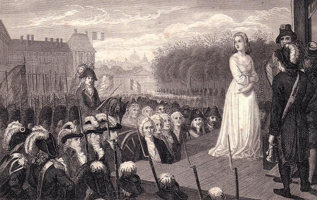Самые известные предсказания парижской сивиллы Марии Ленорман: Казнь Марии Антуанетты