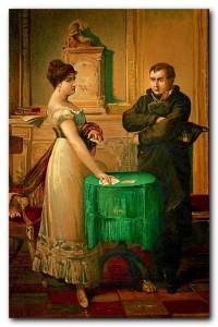 Наполеон и Мария Ленорман