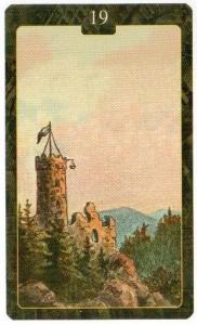 Значение 19 карты БАШНЯ из Оракула Ленорман (из книги Маркуса Кац и Тали Гудвин)