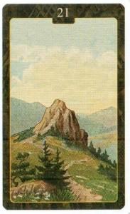 Значение 21 карты Гора Малый Оракул Ленорман