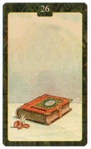 Значение 26 карты Книга - Малый Оракул Ленорман