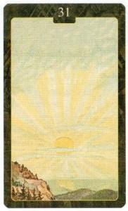 Значение 31 карты Солнце из Оракула Ленорман (из книги Маркуса Кац и Тали Гудвин)